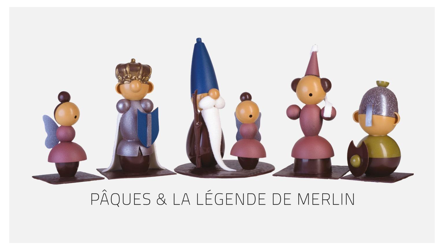 Figurines de Pâques - la légende de Merlin
