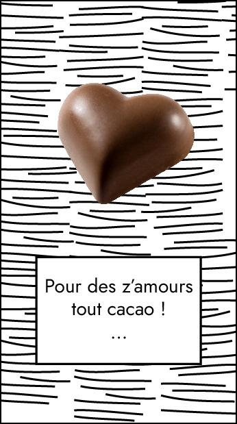 Pour des z'amours tout cacao